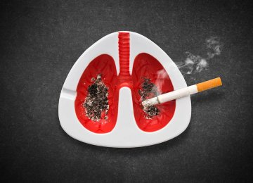 Among people who smoked between one and 10 cigarettes per day, the risk of dying from lung cancer was nearly 12 times higher.