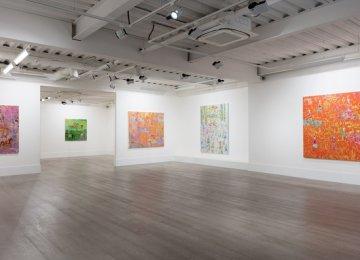 Derakhshani's Works  From 3 Series in London