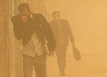 Sistan Dust Storms Worsen