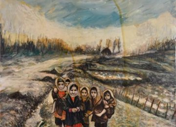 Figurative Paintings Influenced by Qajar Style