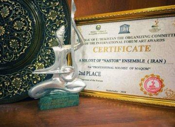 Nastor Ensemble Wins 2nd Place in Uzbek Forum