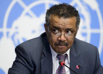 Ethiopia's Tedros New WHO Chief
