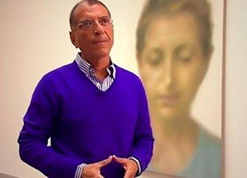 Y. Z. Kami's Solo  Exhibit at Ab-Anbar