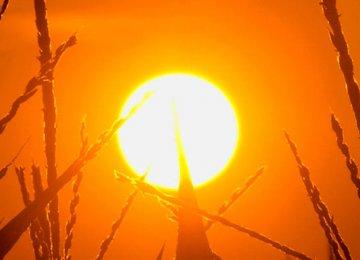 Ahvaz Hits 43°C