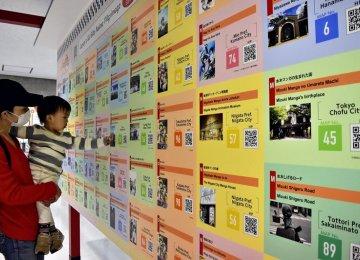 Tokyo Airport Exhibits Anime Sites