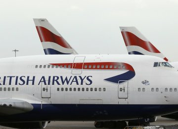 "BA blamed the problem on a ""power supply issue""."