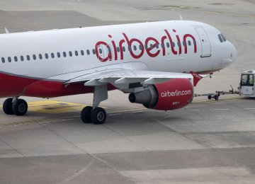 Air Berlin to Receive $328m From Etihad Airways