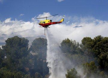 Fires Erupt in Southern France