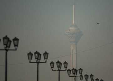 Tehran Air Pollution Lingers
