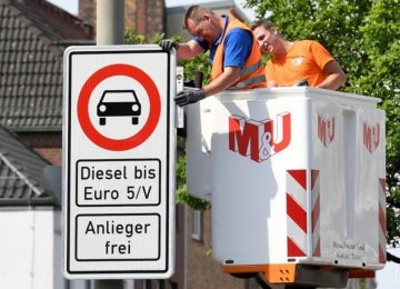 Green Light to Diesel Ban in Germany