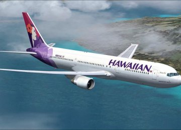 Hawaiian Airlines Joins Int'l Climate Project
