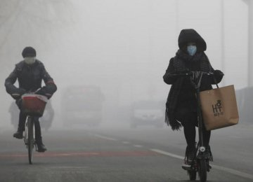 China Smog to Become Worse