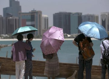 China Largest Source of Tourists for Abu Dhabi