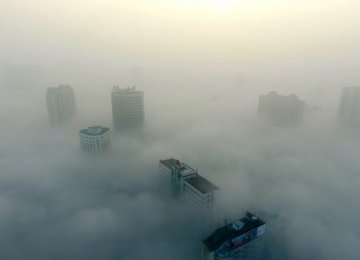 Around a third of the smog drifting across Beijing originates in neighboring Hebei