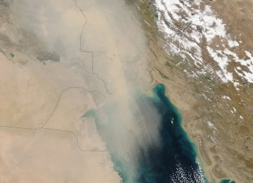 Air Quality in SW Iran Critical
