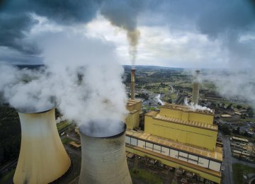 Toxic emissions from power stations and other coal-related industries contribute to Australia pollution problem.