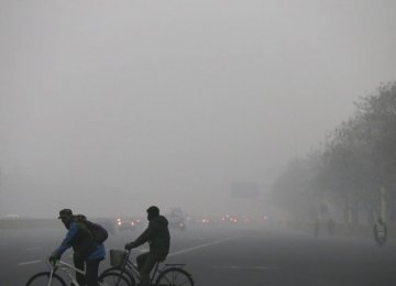 Smog Persists in China Despite Firecracker Ban