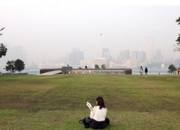Hong Kong Smog Hits Serious Health Risk Levels