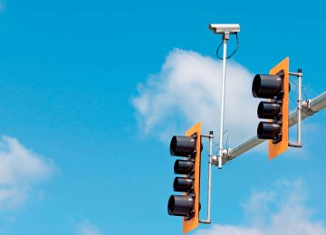 Traffic cameras have helped identify vehicles without a technical inspection sticker.