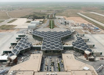 Jordan Airport Sees Higher Passenger Traffic in 2018