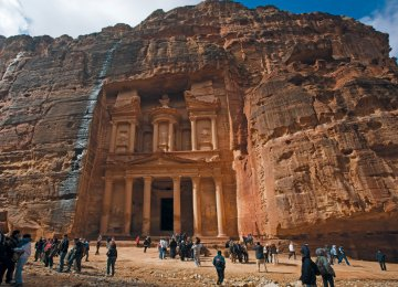 Jordan last year hosted 3.8 million foreign visitors.