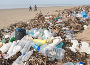 The levy has led to a dramatic reduction in plastic use since it was introduced in England.