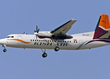 Kish airline will restart its flights to Muscat from  its base in Kish Island soon.