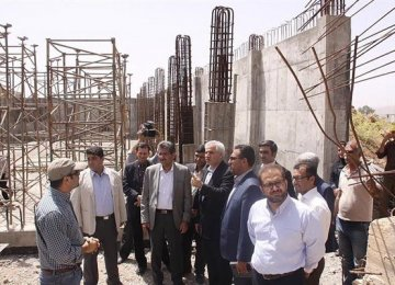 The project began before the 1979 Islamic Revolution but was suspended for a very long time.