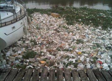 Asia's Plastic Waste  Choking Oceans