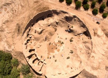 Ancient Ossuaries Discovered in Yazd