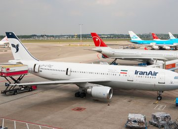 Iran Voices Complaint to ICAO Over Airplane Refueling Problems