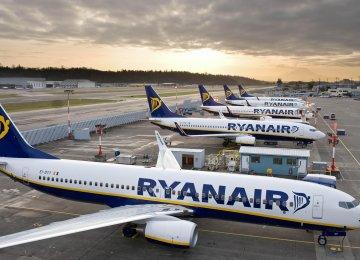 Ryanair Profits on Track Despite Falling Fare