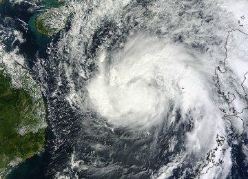 Vietnam Braces for Huge Tropical Storm