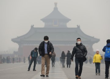 Lack of Dust Making China's Air More Toxic