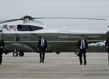 Secret Service resources have been exhausted since last year's tumultuous presidential election.