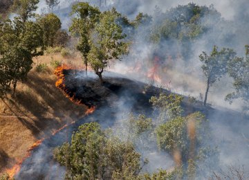 FRWO Awaits  Funds to Fight Wildfires