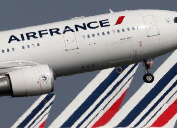 Air France Shares Down 13 Percent