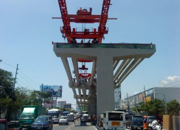 In the Philippines, infrastructure investment contributed to expanding domestic demand.