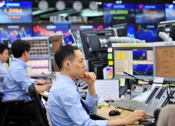 MSCI's broadest index of Asia-Pacific shares outside Japan was almost flat.