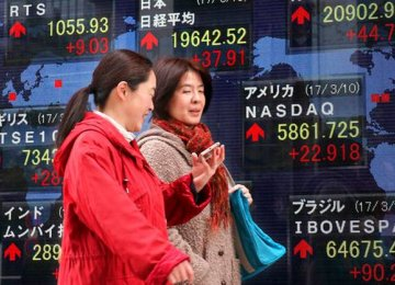Asia Shares Edge Up