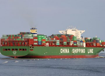 China's exports to the US rose 19.7% in March on-year, while imports from the US rose 15.1%.