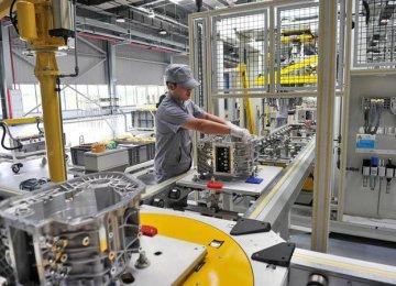 China Posts Sluggish Factory Growth