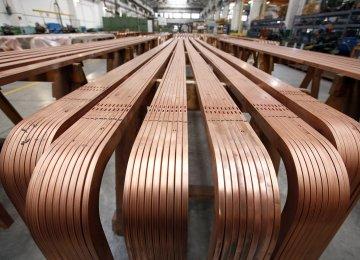 Copper Slips to 2-Week Low