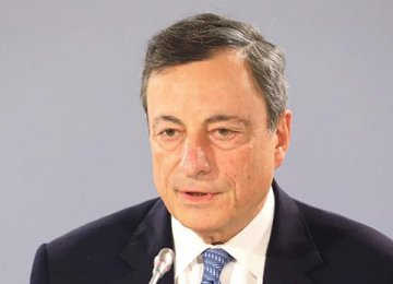 Draghi Says Expects Wage Growth