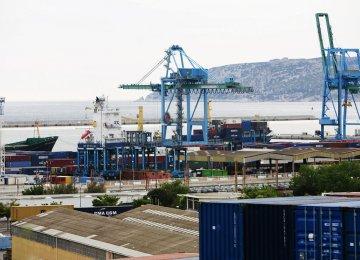 France Exports Fall