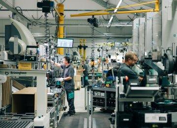 German Factory Output Slumps