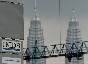 Goldman Under US Scrutiny in 1MDB Fraud