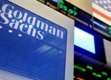 Goldman Says US Economy to Flounder