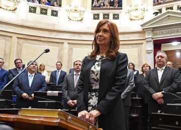 some bribes were reportedly delivered directly to ex-president Cristina Fernandez de Kirchner's apartment in Buenos Aires  and the official presidential residence.