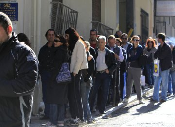 Italy's Jobless at 18-Month High